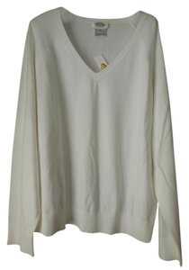 Talbots Plus-size Lightweight New With Tags V-neck Longsleeve Sweater