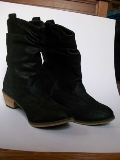 Miss Me Western Black Boots