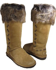 UGG Australia Tall Suede chestnut Boots