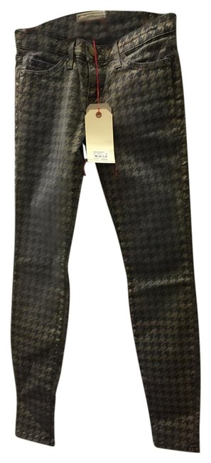 Item - Foiled-brown Coated The Ankle Skinny Jeans Size 27 (4, S)