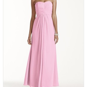 David's Bridal Tickled Pink Dress