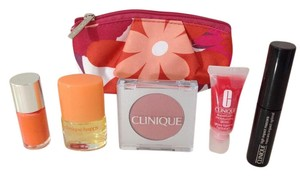 Clinique NEW CLINIQUE MAKEUP GIFT SET 6 PIECES TRAVEL SIZE PERFUME LIPGLOSS...