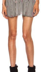 Isabel Marant Mini Skirt Black white pink