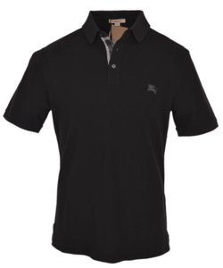 Burberry Brit Men's Polo Burberry Polo Polo Burberry T Shirt Black