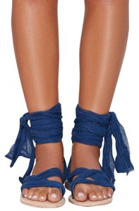Brother Vellies blue Sandals