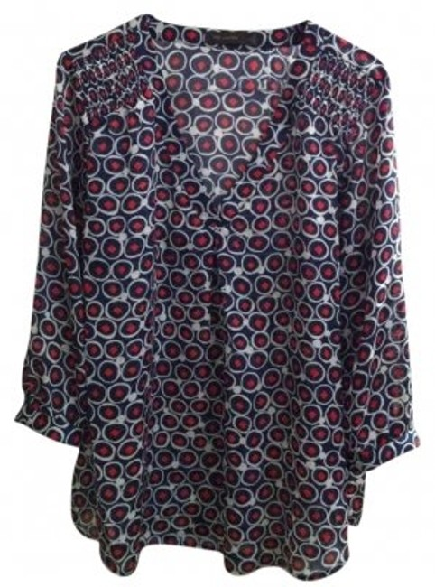 Preload https://img-static.tradesy.com/item/194259/the-limited-blue-and-red-cute-flowy-versatile-everyday-wear-professional-sheer-blouse-size-16-xl-plu-0-0-650-650.jpg