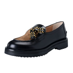 Prada Black / Brown Flats