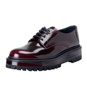 The Original Car Shoe Burgundy Flats
