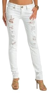 Guess Distressed Skinny Jeans-Distressed