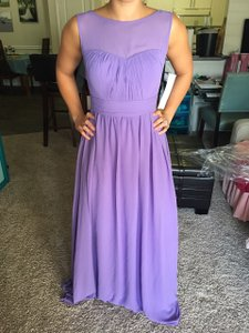 Bill Levkoff Lavender (Amethyst) 1114 Dress