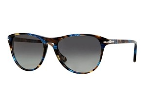 Persol New Persol PO 3038 S 973/71 Retro Round Multi-Colored Havana