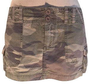 Abercrombie & Fitch Mini Skirt Camoflauge