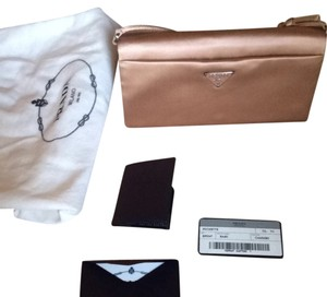 Prada Pale Pink Clutch