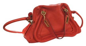 Chloé Satchel in Tangerine