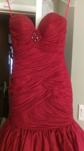 DARK RED Cn829164 Dress