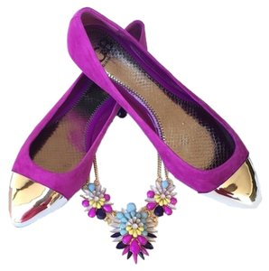 Gianni Bini Pansy Purple Flats