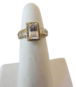 Victoria Wieck Victoria Wieck .925 Absolute Diamond Rectangle Ring Size 8