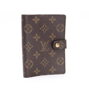 Louis Vuitton Louis Vuitton Agenda PM Monogram Diary Ring Cover