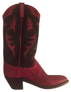 Neolite Red and black Boots