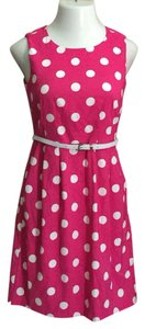 Dress Barn short dress Pink & White on Tradesy