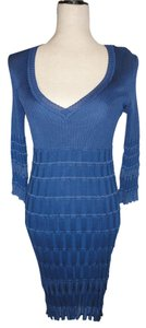 M Missoni 3/4 Sleeve Knit Dress