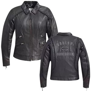 Harley Davidson Heritage Harley Davidson Leather jacket XL Women's