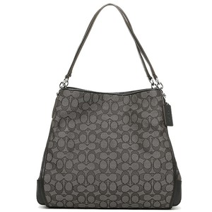 Coach Silver Hardware Shoulder Bag