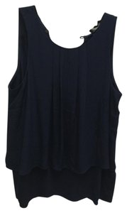 J.Crew Night Out Date Night Business Sleeveless Top Navy
