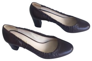 Prada Brown Dark Pumps
