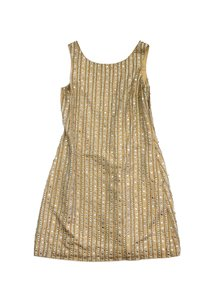 Tracy Reese short dress Champagne Embellished on Tradesy