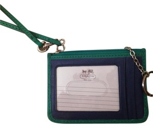 Coach Wristlet in French Blue
