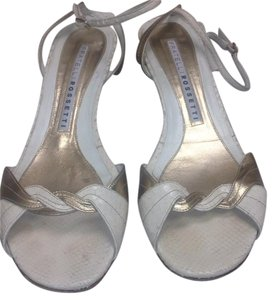Fratelli Rossetti Cream & metallic gold Sandals