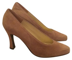 Charles Jourdan Camel Pumps