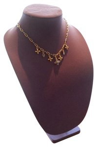 Trifari TRIFARI GOLD & PURPLE NECKLACE