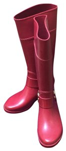 MICHAEL Michael Kors Red Boots