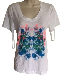 Marc by Marc Jacobs T Shirt White blue pink