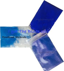 MyLuxury1st 3 Samples of Blue Additives Pigment Powders for Melt and Pour or Cold Process Soap Making