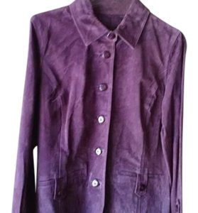 Other Purple Leather Jacket