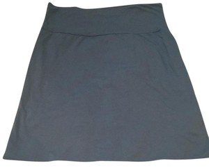 Velvet by Graham & Spencer Mini Skirt Light blue
