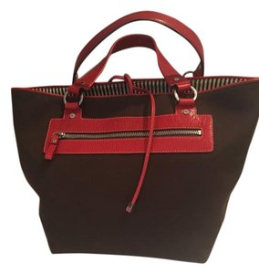 Kate Spade Tote in Brown and Red