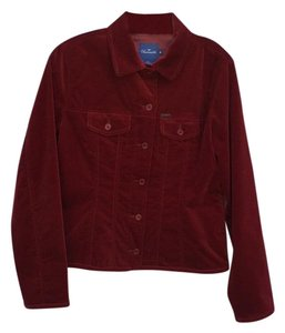 Faonnable Cranberry Jacket