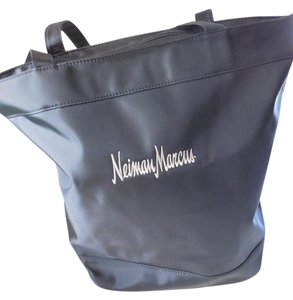 Gemline Logo Double Handles New Without Tags Neiman Marcus Tote in Black