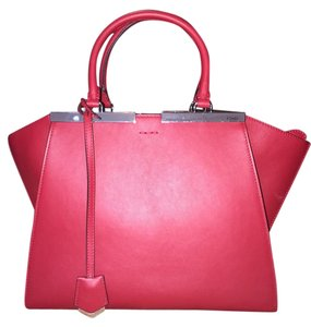 Fendi 3jours Dujours Satchel in Red
