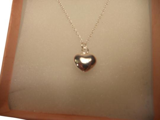 Penny's Fine Jewelry New Sterling Silver Small Heart on a 18