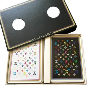 Louis Vuitton Louis Vuitton Limited Edition Multicolor Playing Cards