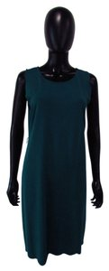 A Pea In The Pod Shift Dress Teal Sleeveless