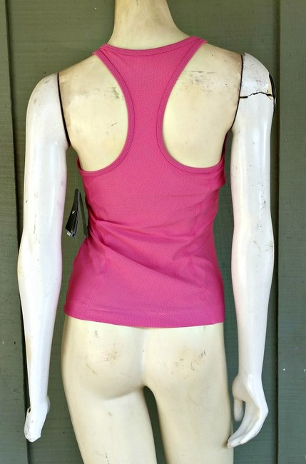 Nike NWT NIKE Pink Dri Fit Racer Back Top Small Workout Gym
