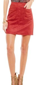 Sanctuary Clothing Mini Skirt Brick