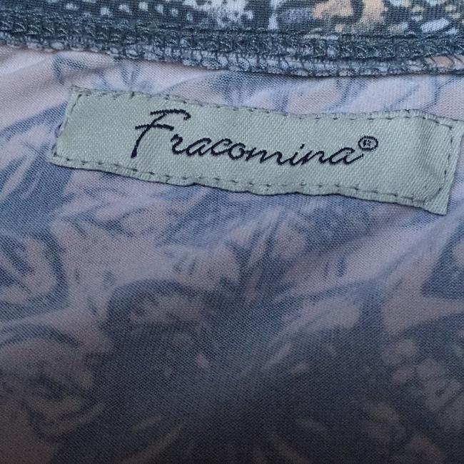 Fracomina short dress Floral peach on Tradesy