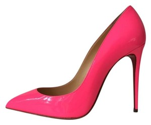 Christian Louboutin Shocking Neon Hot Pink Pumps